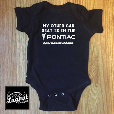 Pontiac Trans Am Car Seat - Baby Bodysuit or Toddler T-Shirt - FirebirdFanBase.com