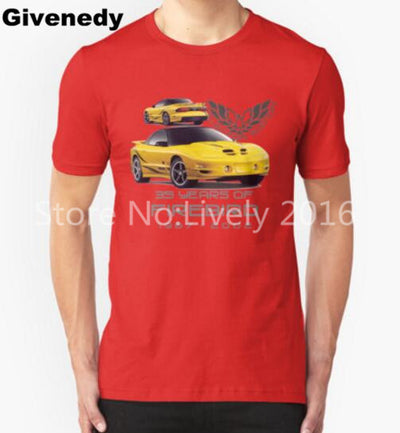 35 Years of Firebird Collector Edition Red Tee - FirebirdFanBase.com