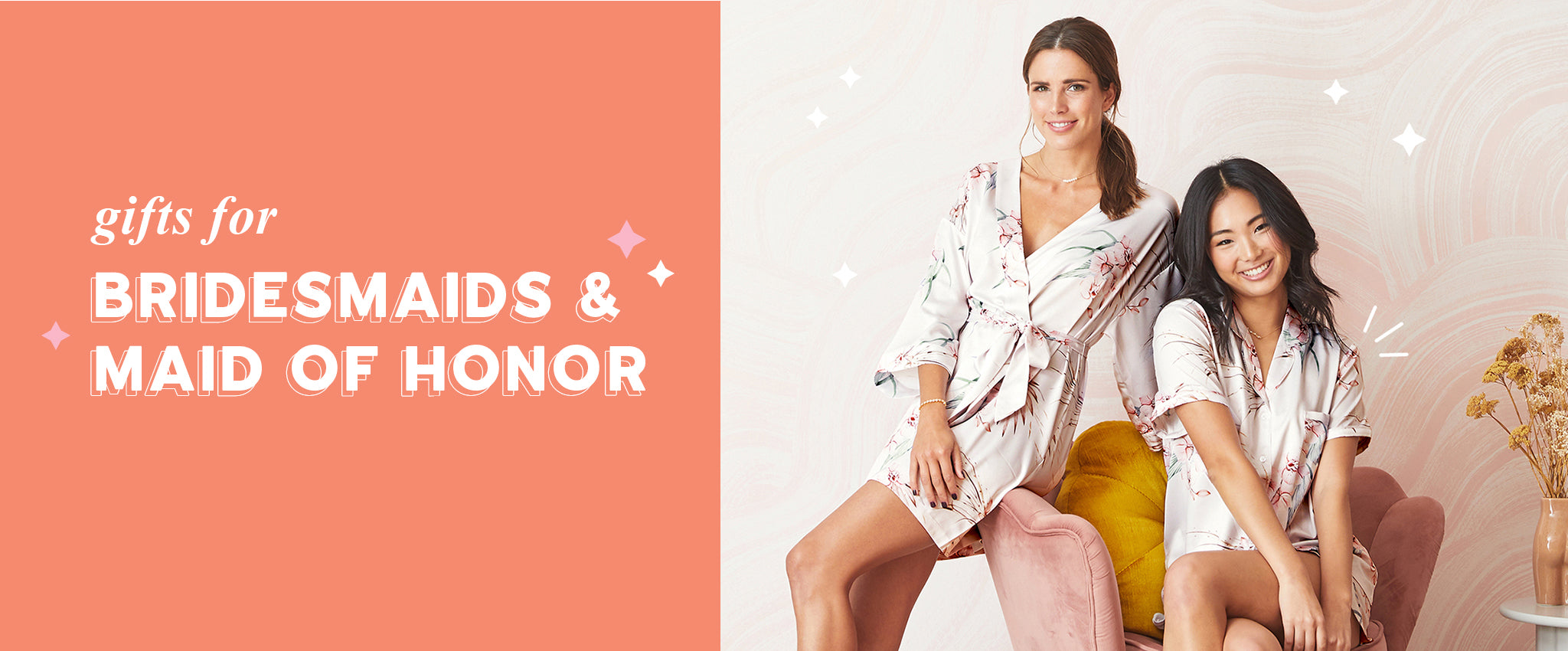 Gifts for Bridesmaids & Maid of Honor