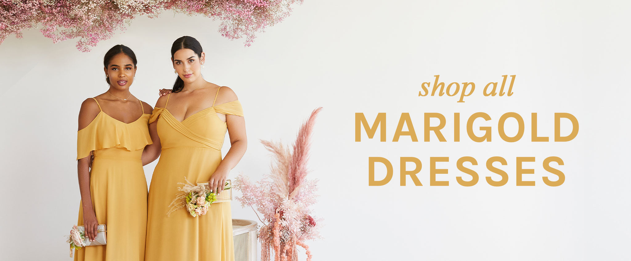 Shop All Marigold Dresses