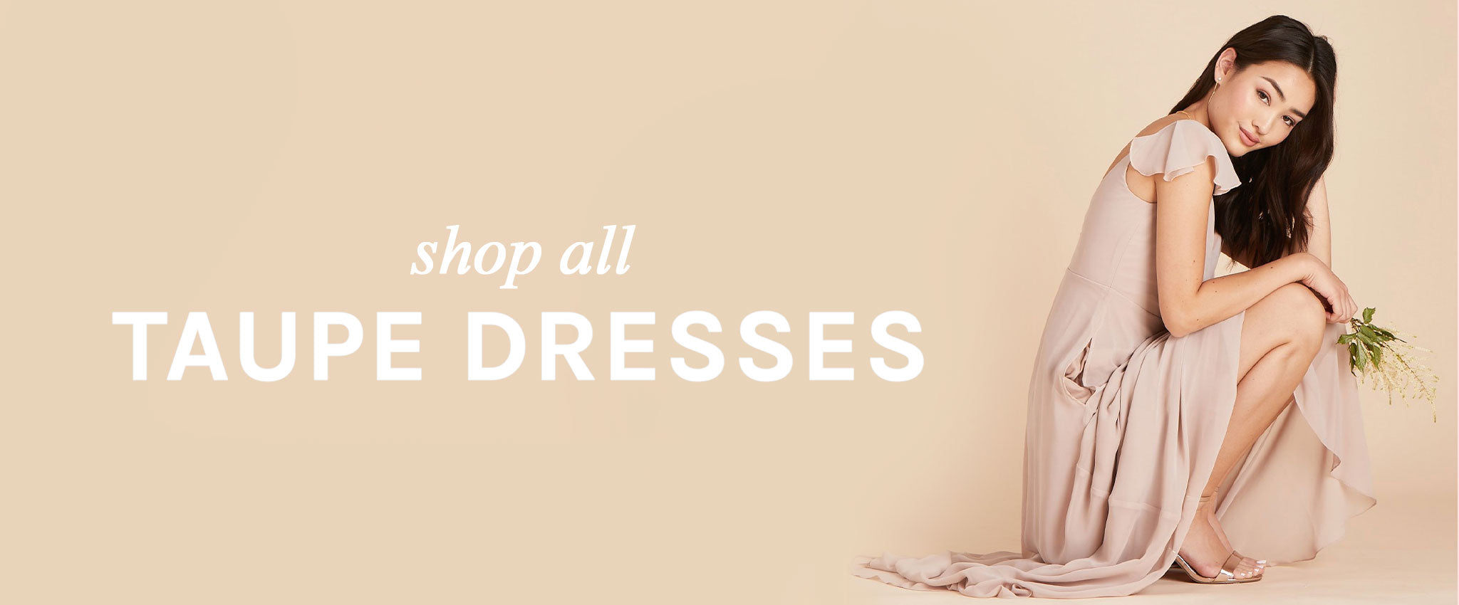 Shop All Taupe Dresses