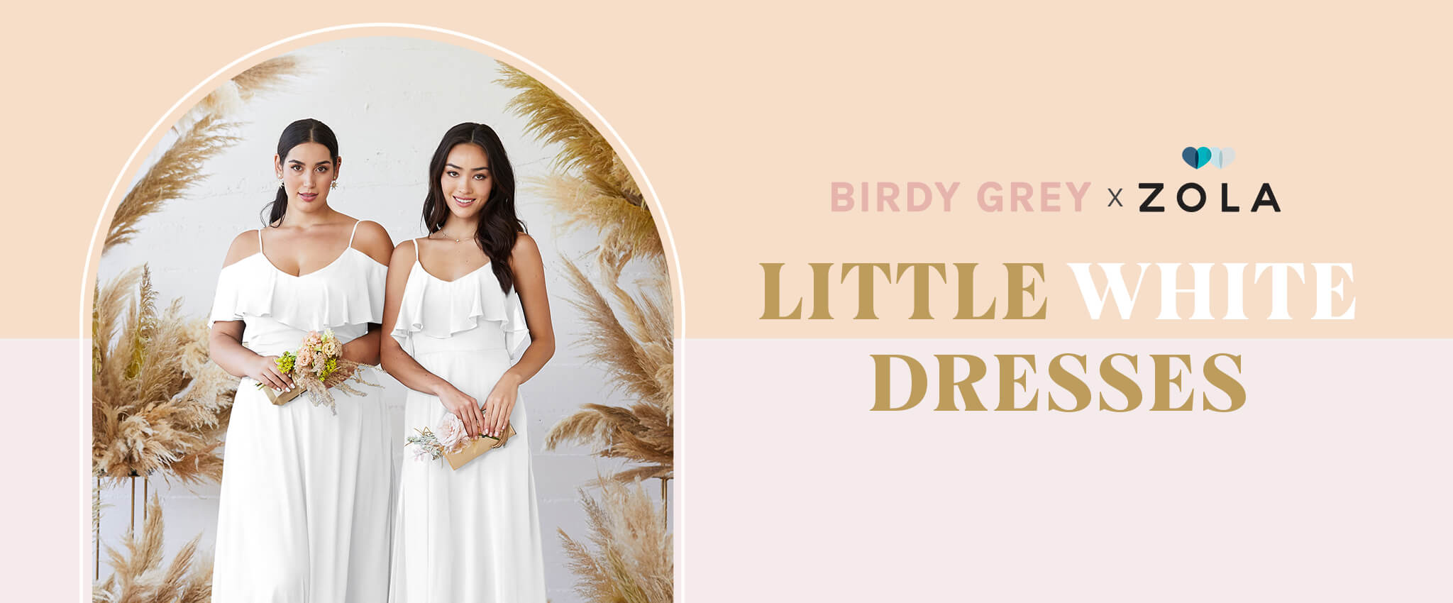 Introducing LITTLE WHITE DRESSES by Birdy Grey x ZOLA