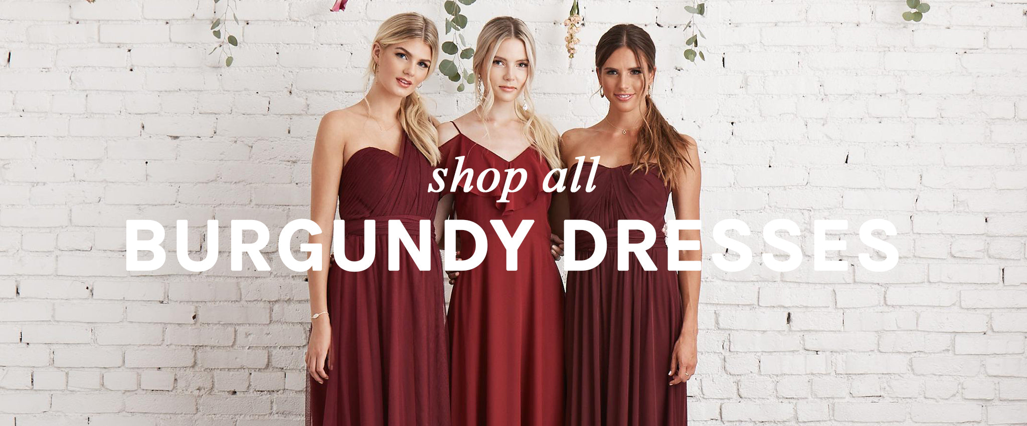 Raise A Glass To Our Beautifully Rich Wine And Burgundy Red Bridesmaid Dresses For Under 100the Perfect Pairing Your Fall Or Winter Wedding: S Burgundy Wedding Dresses At Websimilar.org