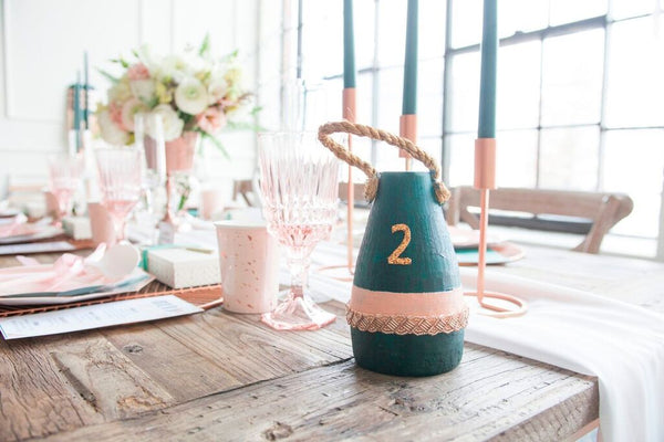 no bridal shower is complete without a cake champagne bar serve up sweets that incorporate the colors of the party such as this tiered bridal shower