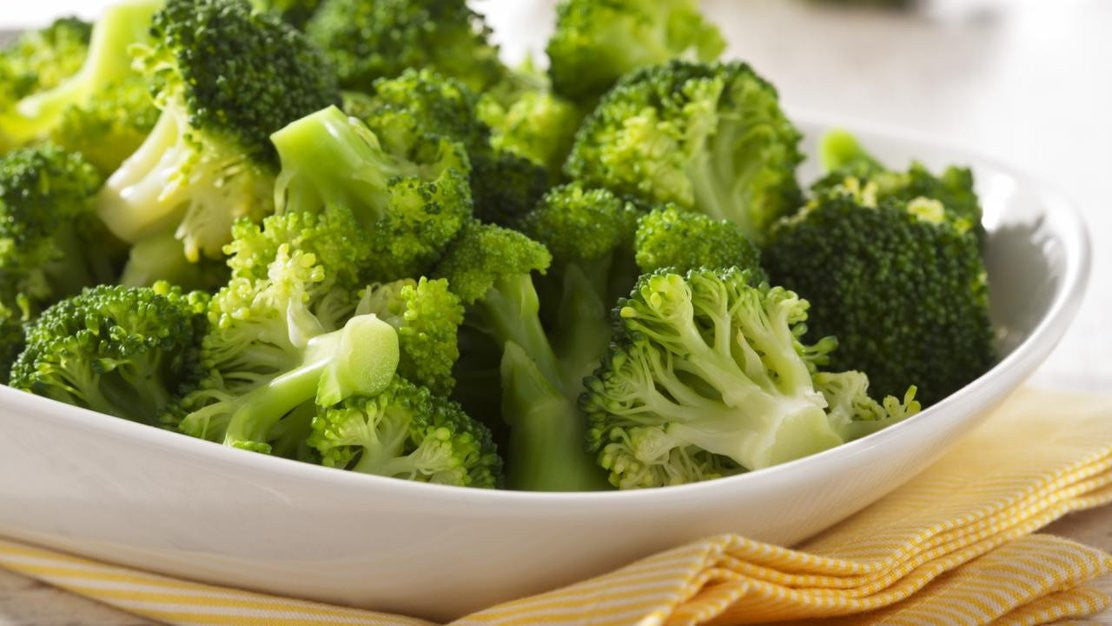 eat healthy broccoli