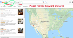 We Will Extract And Verify 1000+ Hyper-Targeted  Leads From Google Maps
