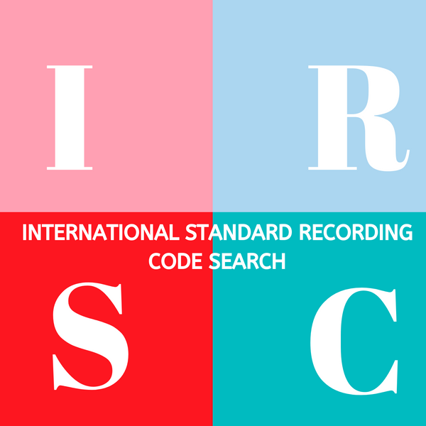 Research And Provide Your New & Old International Standard Recording Code (Irsc) Codes