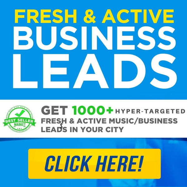 Get 1000+ hyper-targeted fresh & active leads from any location