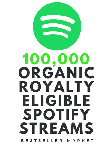 We Will Promote Your Music Up To 100,000+ Real Listeners/Streams/Saves On Spotify