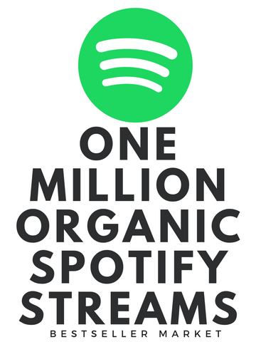 SPOTIFY MUSIC PROMOTION :  WE WILL PROMOTE YOUR MUSIC UP TO 1 MILLION REAL ROYALTY ELIGIBLE  STREAMS & 2000+ FOLLOWERS ON SPOTIFY | NO BOT