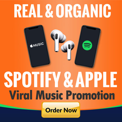 Massive spotify promotion with organic exposure to 100 million active playlist listeners