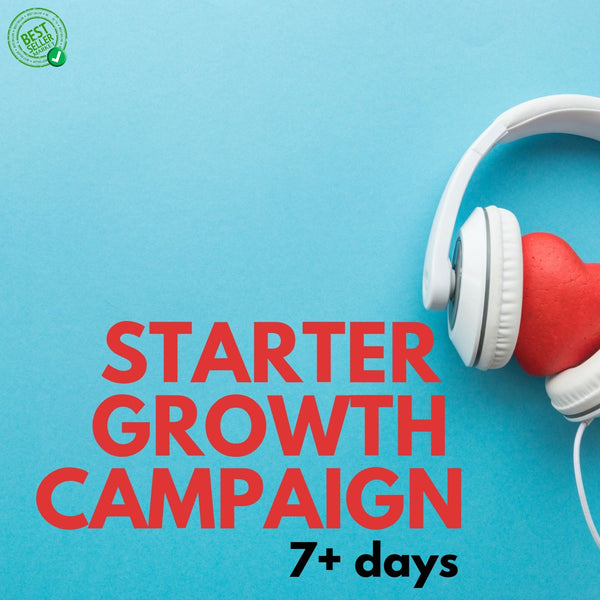 Music Promotion | Starter Growth Campaign | 7+ days