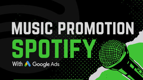 organic spotify music promotion with google ads