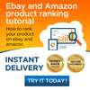 How to rank your product on ebay and amazon  - 2020 method | INSTANT DELIVERY