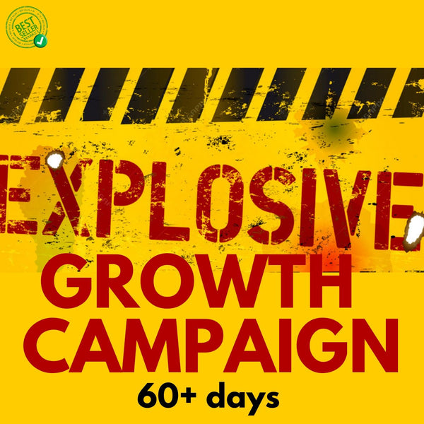 Music Promotion | Explosive Growth Campaign | 60+ days