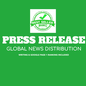 PRESS RELEASE WRITE UP & GLOBAL DISTRIBUTION: GUARANTEED PLACEMENT ON THE BIGGEST NEWS WEBSITES WORLDWIDE & GOOGLE PAGE 1 RANKING.