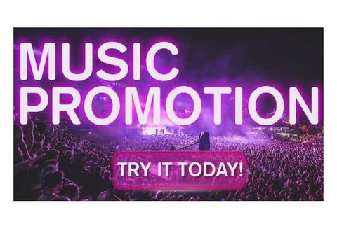 music promotion to 340k fans 3 verified social network profiles