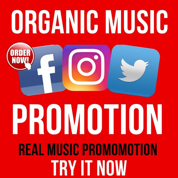 Organic music promotion to 400k fans on 3 verified instagram, facebook and twitter accounts