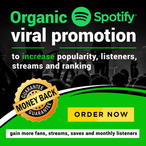 Rank higher and Increase your popularity organically | Gain more fans, saves and monthly listeners