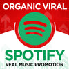 Organic & viral spotify promotion to make your music famous