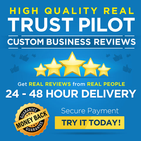 High Quality Real Trust Pilot Custom Business Reviews | 48 Hour Delivery