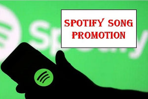 organic spotify promotion to a large audience with proof of work | ZERO BOTS