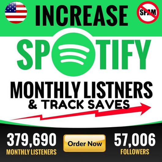 Organic promotion to increase monthly listeners and ranking