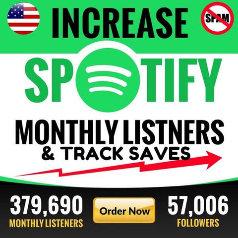 Organic promotion for real fans, monthly listeners and saves