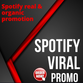 Real and organic spotify promotion | Bestseller market
