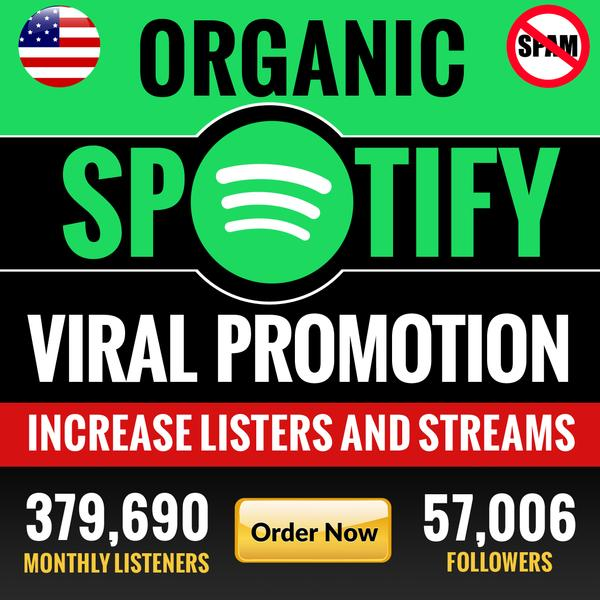 Rank higher and Increase your popularity from playlist placements | Gain more fans, saves and monthly listeners