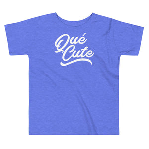 Que Cute Toddler Short Sleeve Tee