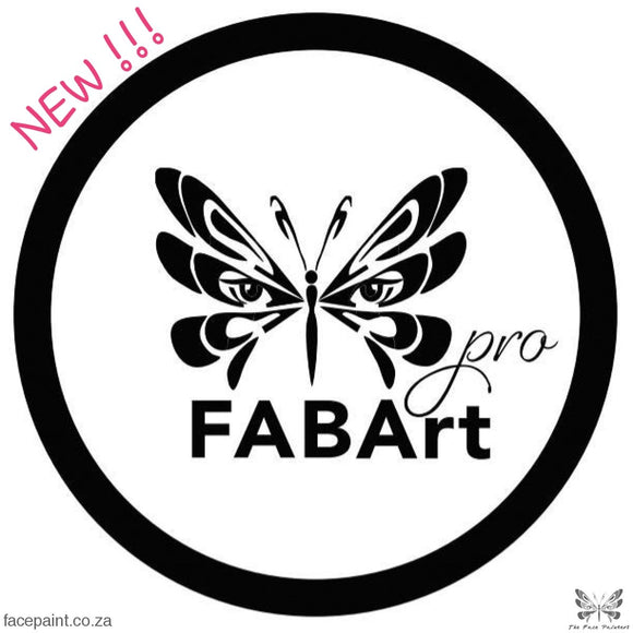FABArt Pro imported cosmetic grade face paint South Africa