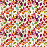 FABArt Custom Print Fabric - F01 Colourful Leaves 10