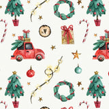 FABArt Custom Print Fabric - Showcase SA Designer Joey and Jo - Marais Christmas Roadtrip