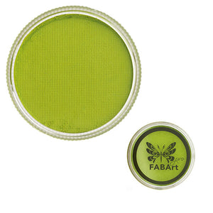 FABArt Pro Face Paint Matte Citrus Green