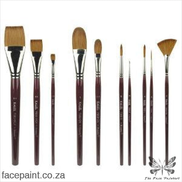 Dynasty Kalel Face Painting Brush Round Brushes