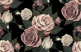 Designer Fabric - per metre - Blush Toned Roses-The Face Painters South Africa for professional face paint supplies