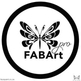 Fabart Pro Face Paint Matte Black Paints