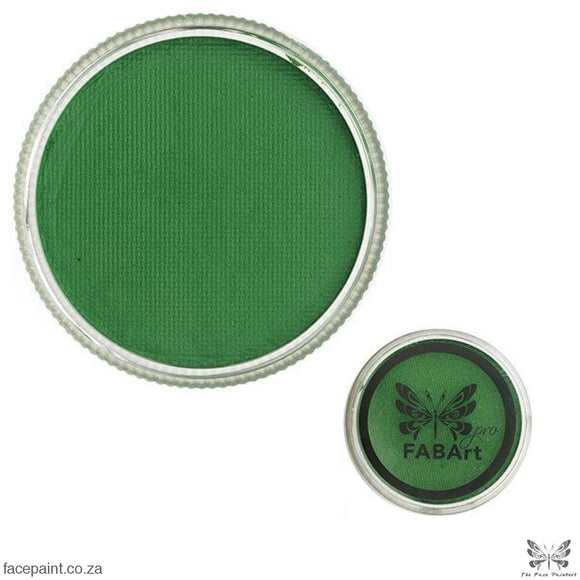 Fabart Pro Face Paint Matte Bright Green