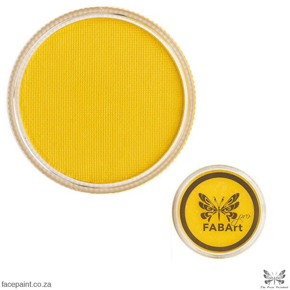 FABArt Pro Face Paint Matte Bright Yellow