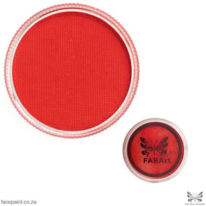 FABArt Pro Face Paint Matte Dark Orange