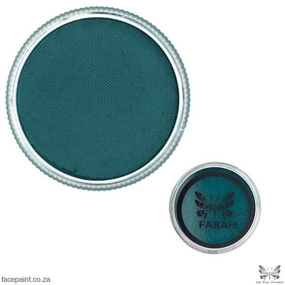 FABArt Pro Face Paint Matte Dark Teal