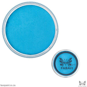 FABArt Pro Face Paint Matte Light Blue