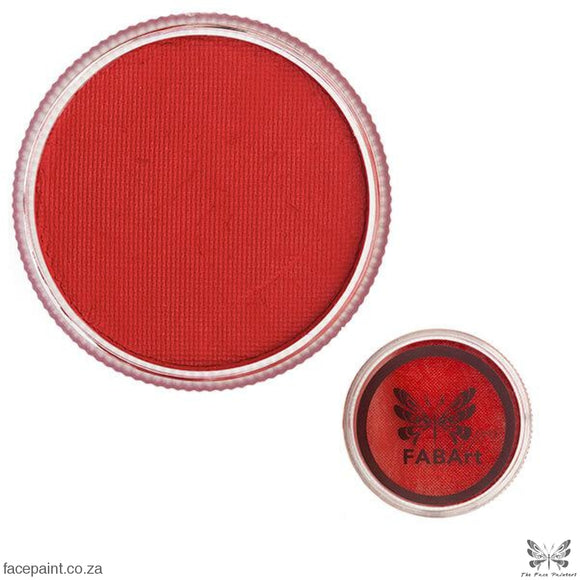 FABArt Pro Face Paint Matte Postbox Red