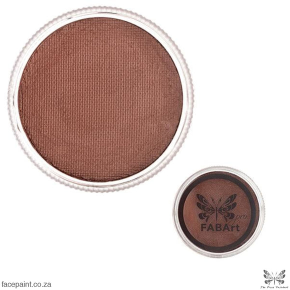 FABArt Pro Face Paint Matte Teddy Brown