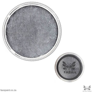 FABArt Pro Face Paint Shimmer Dark Grey