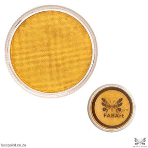 FABArt Pro Face Paint Shimmer Gold