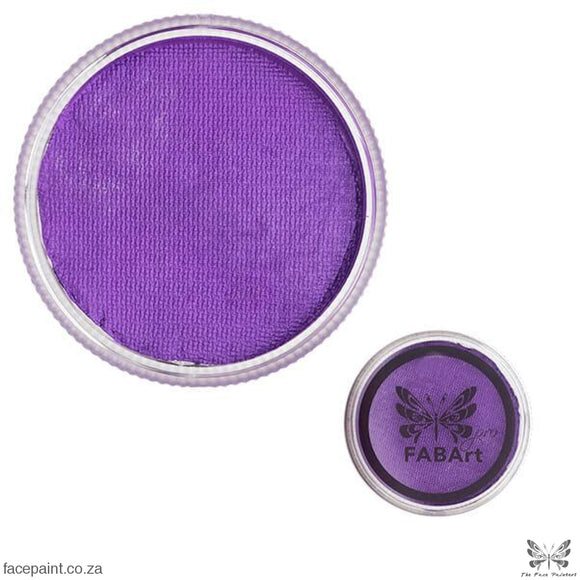 FABArt Pro Face Paint Shimmer Purple