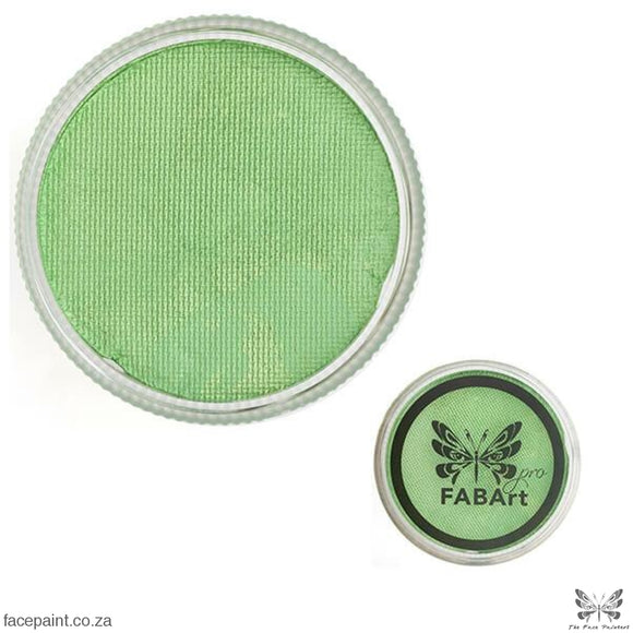 FABArt Pro Face Paint Shimmer Soft Green