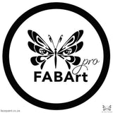 Fabart Pro Face Paint Shimmer White Paints